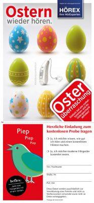 Hörgeräte Aktion zu Ostern