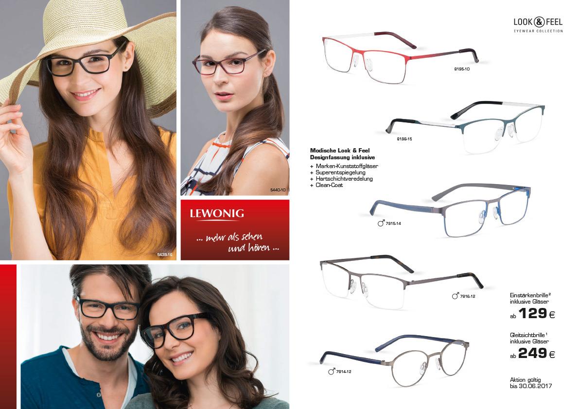 Look & Feel Brillen-Aktion
