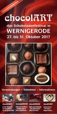Flyer Schokoladenfestival 2017
