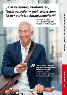 """Aktion """"Besser hören, leichter leben"""" bis zum 31. Oktober 2017"""