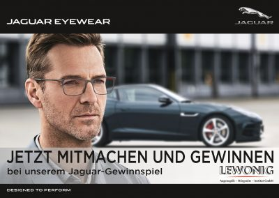 Jaguar Brille Gewinnspiel