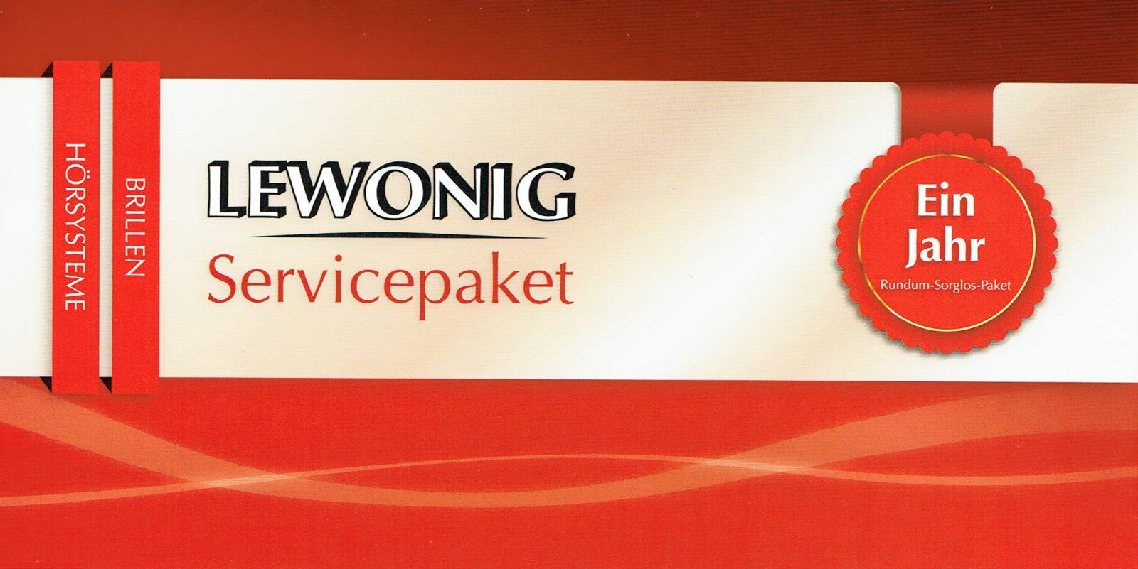 Servicepaket für Ihre Brille